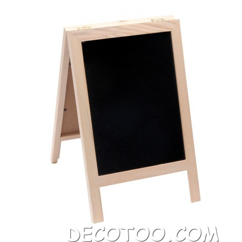 chevalet ardoise porte menu. Black Bedroom Furniture Sets. Home Design Ideas
