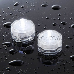 1 bougie LED submersible blanche