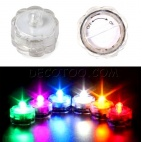 1 bougie LED submersible multicouleurs