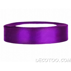 25 m ruban satin 6 mm - Violet