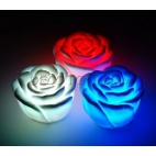 1 rose à LED multicouleurs