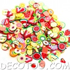 1 sachet de confettis fruits