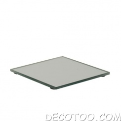 1 support bougie miroir rond