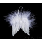 2 paires ailes d'ange - Blanc